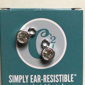 CZ earring drops
